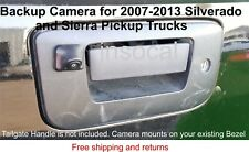 Backup Rear View Camera Kit for 2007 - 2014 Chevrolet Silverado & GMC Sierra