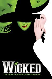 Wicked Broadway Musical Cool Poster Print A0-A1-A2-A3-A4-A5-A6-MAXI C123