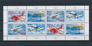 LO64669 Iceland aviation aircraft airplanes good sheet MNH