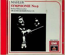 MAHLER- Symphony No.9 Berlin/Barbirolli CD (EMI 1964 Recording)