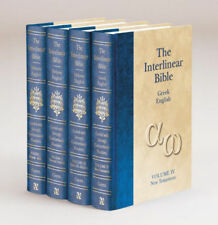 The Interlinear Hebrew-Greek-English Bible [4 Brand New Hardcovers]Jay P Green.