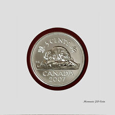 2007 Canada 5 Cents Specimen From Set