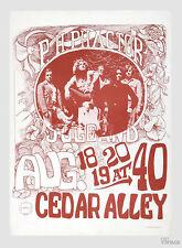 Ph Phactor Jug Band 1967 Aug 18 Cedar Alley Sf Poster 14.5 x 20