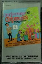 David Seville & The Chipmunks:  Christmas with... Vol. 2 (Cassette, EMI) NEW