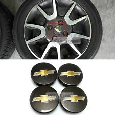 OEM Wheel Center Cap Emblem Cover Dark Gray Pearl for CHEVROLET 2010-2015 Spark