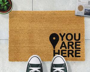 You are Here Doormat