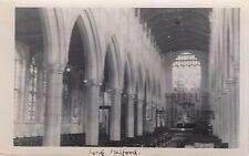 LONG MELFORD( Suffolk) : Church interior  RP