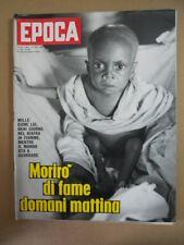 EPOCA n°930 1968 Carolina Stefania di Monaco - Fame nel mondo Biafra  [G784]