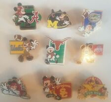 Lot de 9 Pin's Disney MICKEY SPORT AMERICAN FOOTBALL