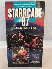 WCW Starrcade '87 1987 Chi-Town Heat VHS WWE Dusty Rhodes Road Warriors Flair