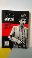 Re Search - William S.Burroughs - Brion Gysin - Shake Edizioni - 1992