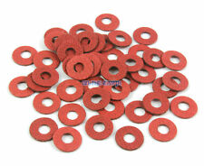 2000 Pieces M4*10*0.5mm Red Paper Washer Insulation Washer