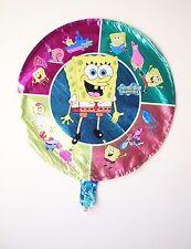 "SpongeBob SquarePants round foil balloon 18"" (45cm) birthday party decoration"