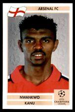 Panini Champions League 2000/2001 (Finale) - Nwankwo Kanu Arsenal No. 19