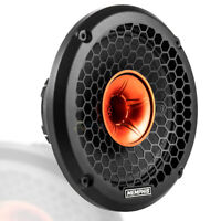 "Memphis Audio 8"" Pro Coaxial Speaker 350W Max 4 Ohm Street Reference SRXP82WT"