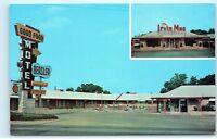 Beasley Motel Mt. Vernon Illinois Ill Vintage Postcard D67