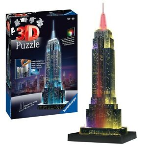 Ravensburger Empire State Building3D Jigsaw Puzzle for Adults and Kids Age 10...