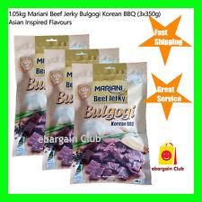 1.05kg Premium Australian Mariani Beef Jerky Bulgogi Korean BBQ 3x350g eBClub