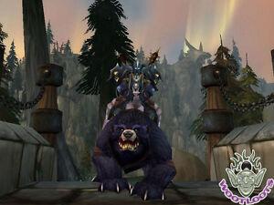 The Red Bearon Loot Card Big Battle Bear Mount World of Warcraft Wow TCG Code
