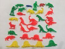 Vintage Tim Mee Yellow, Red, Green Prehistoric Playset Dinosaur Lot & Bonus!
