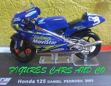 MOTO GP 1/24  SERIE 2 HONDA 125 DANIEL PEDROSA 2003  MOTORCYCLE