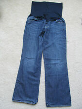 Women's Liz Lange Maternity for Target Blue Jean Pregnancy Pants Size 8 Bootcut