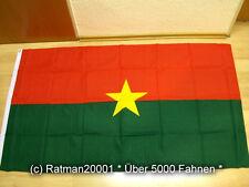 Fahne Flagge Burkina Faso - 90 x 150 cm