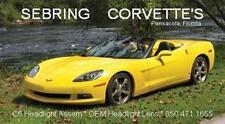 2005--2010 C6 Corvette Headlight Lens Coupe Vert Z06 GS ZR1 Parts number list