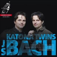 KATONA TWINS :  J.S. Bach Arranged for Guitar  -   RARE SACD