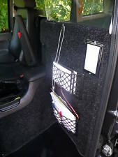 LTI TX1, TX2 & TX4 Carpeted front Division, Fully Fitted London black Taxi Cab