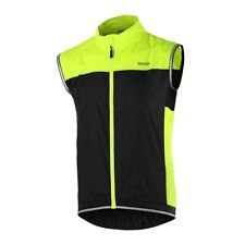 1 XL Size Green Training Cycling Vest Outdoor Sport Clothing Bicycle Windproof