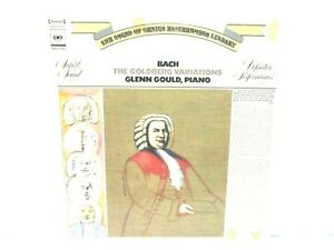 BACH THE GOLDBERG VARIATIONS GLENN GOULD PIANO VINYL RECORD