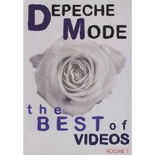 DEPECHE MODE The Best Of Videos Volume 1 DVD BRAND NEW PAL Region 2 3 4 5 6