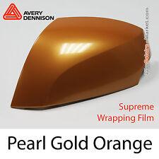 10x20cm Pearl Dorado Naranja Avery Dennison Supreme Carcasa Lámina SW 900-326-S
