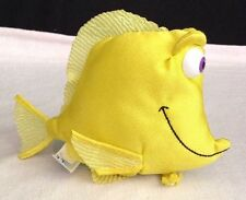 """Finding Nemo Yellow 5"""" BUBBLES Fish Plush Stuffed Toy Animal From: Applause"""