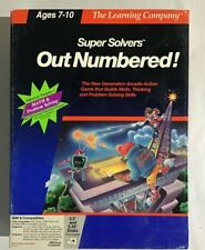 Super Solvers Out Numbered PC Game Tandy Disks 1990