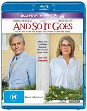 And So It Goes - Michael Douglas (Blu-ray, 2014) NEVER PLAYED & STILL SEALED
