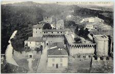 Cartolina Formato Piccolo - Montecarlo (Lucca) - L'Antica Fortezza Veduta A Volo