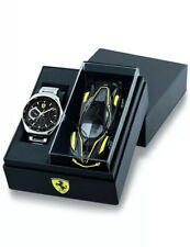 Suderia Ferrari Men's Watch Special Edition Speedracer gift set with Car