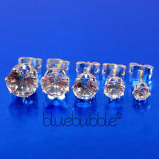 Cubic Zirconia Alloy Costume Earrings