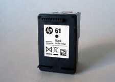 empty cartridge HP 61 black ink virgin hewlett packard for refill use