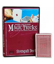 Amazing Easy to Learn Magic Tricks:  Svengali Deck - Magic Deck and DVD Combo!