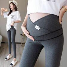 Skinny Maternity Legging Across VLow Waist Belly Legging Pregnant Women Cotton