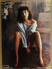 Original Vintage Poster Jennifer Beals As Alex Movie Promo Flash dance PinUp 80s