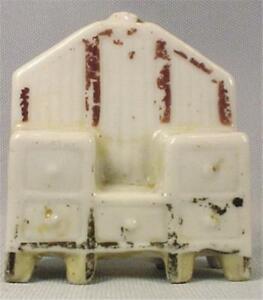 Dollhouse Mniature Vanity Bureau Figurine Porcelain Vintage Scarce 1940s Japan