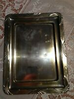 French Art nouveau silver hallmarked drinks tray-Small size-Great for dispaly