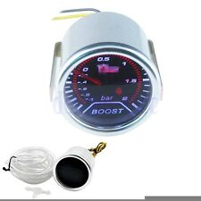"2"" 52mm Auto Universale Manometro Pressione Turbo -1 +2 bar Turbo Boost Gauge DB"