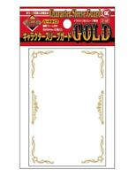 KMC Card Barrier Character Sleeve Guard Gold Hard Type 94x69mm 60pcs From Japan