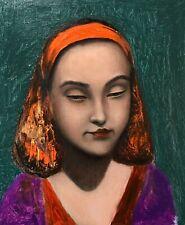 Portrait of M. Original.   Oil on canvas board 10x12ln