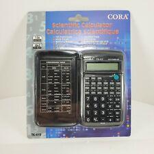 ⚡ Cora Scientific Pocket Calculator TK415 136 Functions 10+2 Digit School     A2